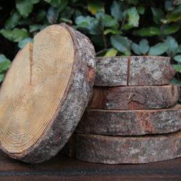 Location décoration rondin bois