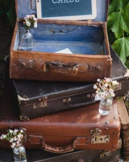 Location decoration valise vintage