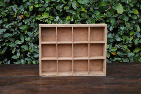 Location décoration casier bois