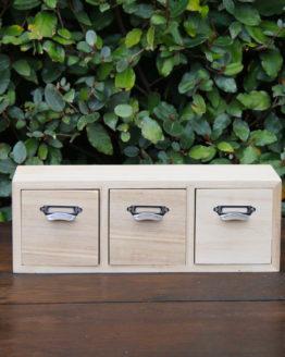 Location décoration tiroir bois