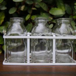 Location décoration mini bouteille de lait