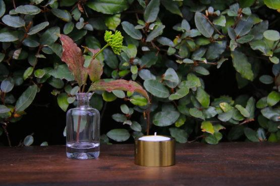 Location décoration photophore doré