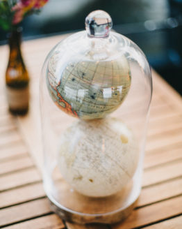 Location decoration cloche en verre