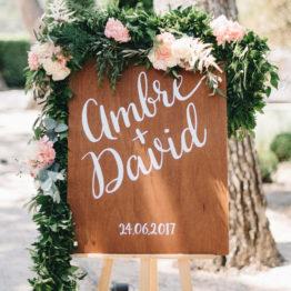 Location décoration panneau bienvenue