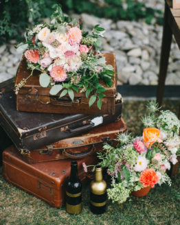 Location décoration valise vintage
