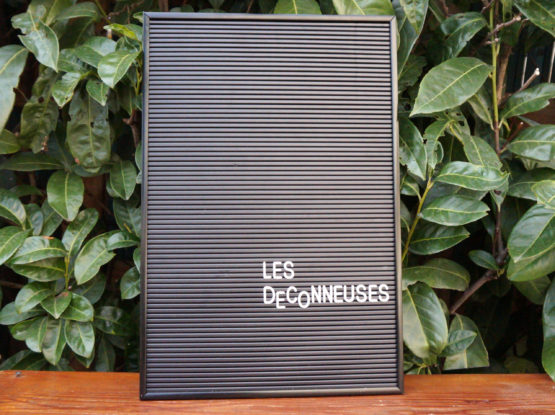Location décoration black board