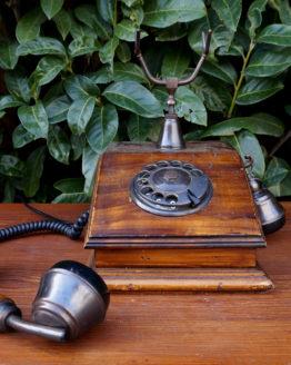 Location décoration telephone vintage