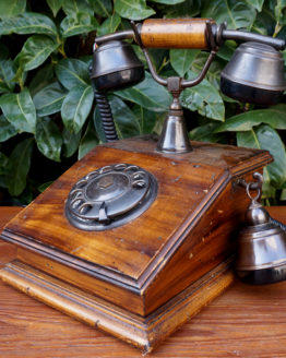 Location décoration téléphone vintage